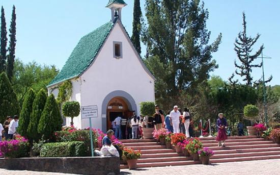 Santuario de la Virgen de Schoenstatt: Santuario de Schoenstatt en Querétaro