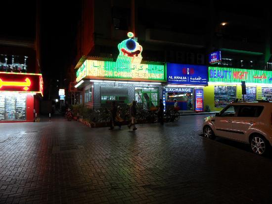 Karachi Darbar: The outside eating area