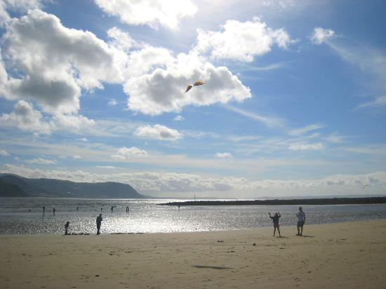 West Shore Beach: Kite flying on West Shore