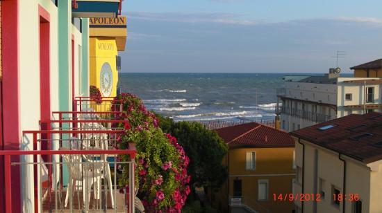 Hotel Gardenia: Blick vom Balkon