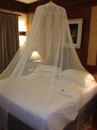 Samui Buri Beach Resort: Mosquito net needs to be requested from reception
