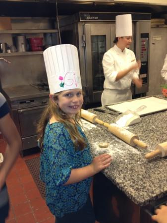The Ritz-Carlton, Chicago: chef G baking cookies