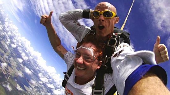 Jump Florida Skydiving : I'm flying!