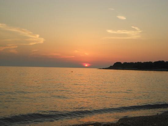 Hotel Zora: Beautiful sunset