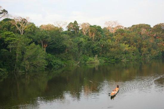 La Selva Amazon Ecolodge: Returning from a excursion