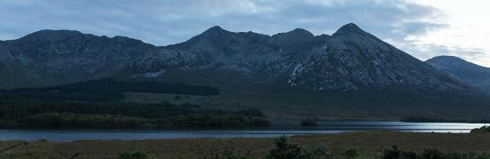 Lough Inagh Lodge: A view of Lough Inagh from the Lodge