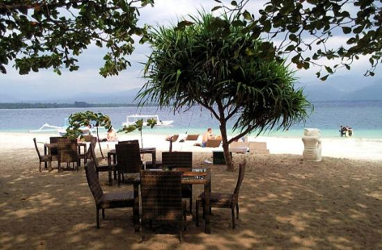 The Beach Club Hotel Gili Air: beach ambience