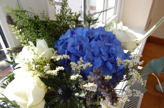 Losehill House Hotel & Spa: A Wedding Flower arrangement