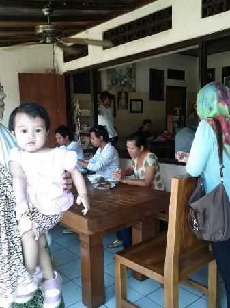 Warung Mak Beng: the baby loves fish soup