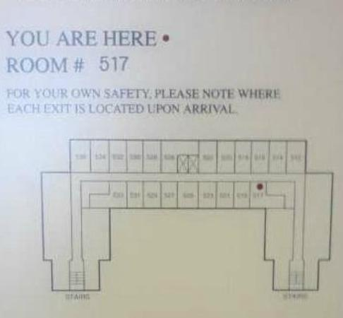 The H Hotel Midland: Room Location