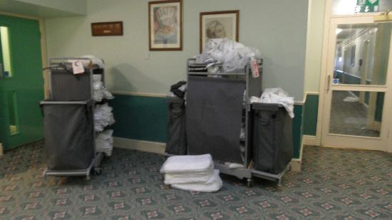 The Grand Hotel - Llandudno: These were stored here along with hoovers approaching rooms Very nice