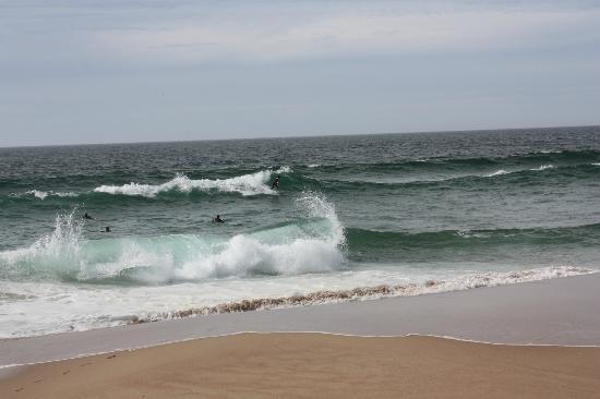 Guincho Beach: Surferos