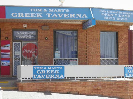 Tom & Mary's Greek Taverna: Tom and Mary's Greek Taverna