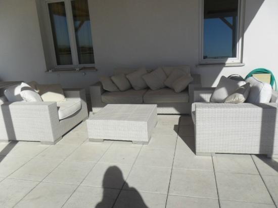 Hotel Coelho: salottino in terrazza...
