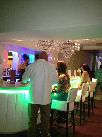 The Albany Hotel: Back Bar