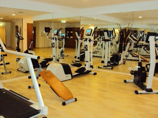 Hotel Exe Vienna: sala de ginastica