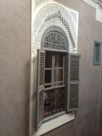 Riad Dar One: Beautiful windows!
