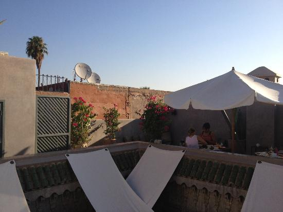 Riad Dar One: Terrace