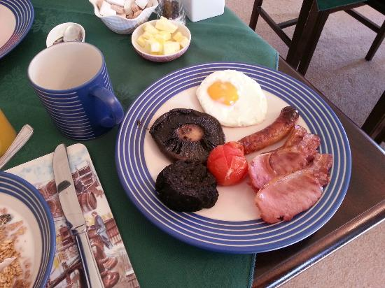 Argyle Guest House : Scottish breakfast