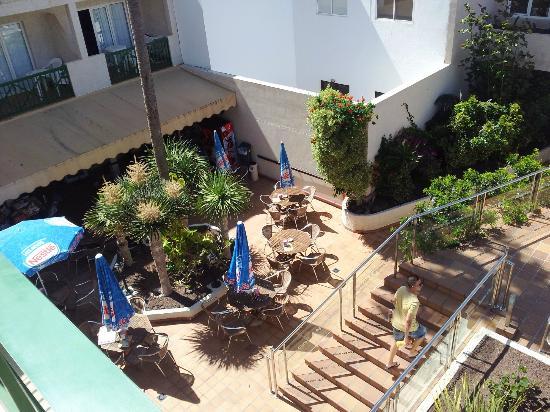 Hotel  Dunas Club: Poolside cafe/bar