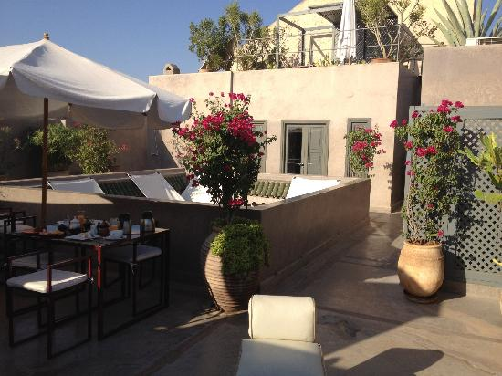 Riad Dar One: Roof terrace