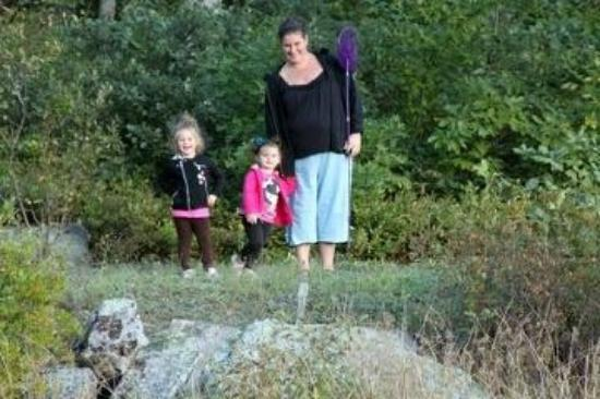 High Point State Park: Me and my girls at High Point SP.