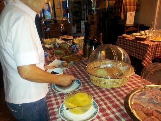 """Hotel Ristorante """"da Cesare"""" : Prima colazione"""