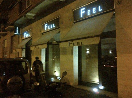 Feel: Ingresso