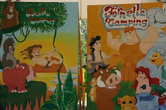Camping Fornella : Kids area