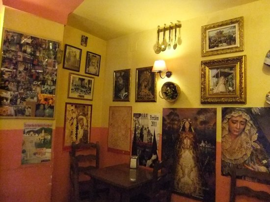 Taberna La Tapa : Rincon del local