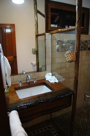 Hotel Playa Cambutal: box doccia