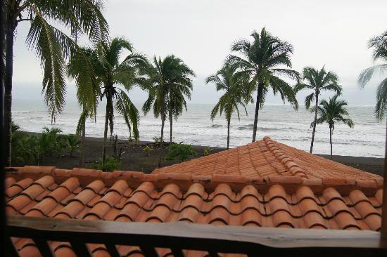 Hotel Playa Cambutal: balcone camera
