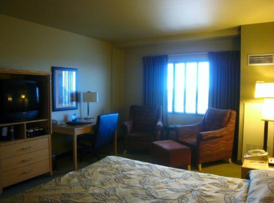 Westmark Fairbanks Hotel and Conference Center: 一通りの物がそろっている室内