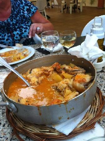 restaurante ter-mar: suquet de rap