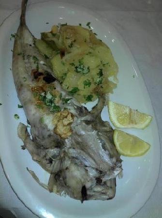 restaurante ter-mar: rapet a la plancha
