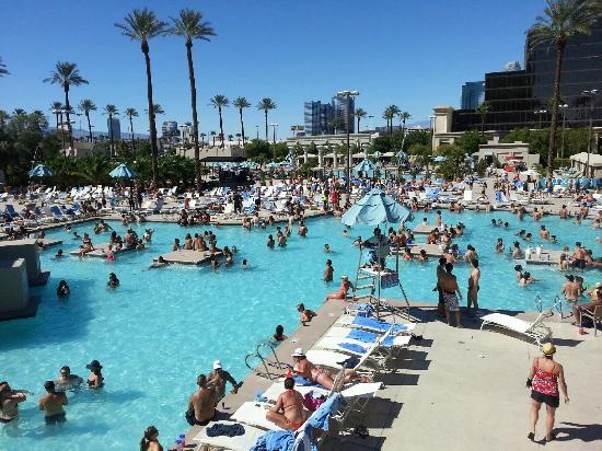 Luxor Las Vegas Pool Area