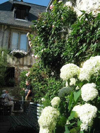 La Cour Sainte-Catherine: Vue du jardin