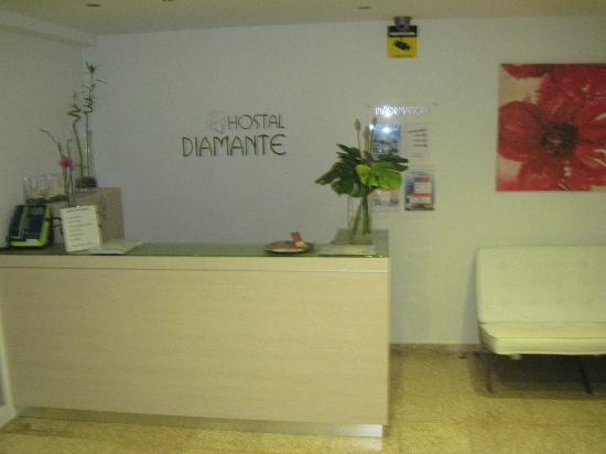 Hotel Diamante: Rezeption