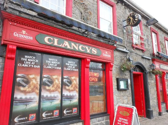 The Old Bank Bed and Breakfast: Jack Clancy's Pub in Bruff, Ireland.