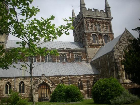 Wimborne Minster: very majestic in the middle of the old town