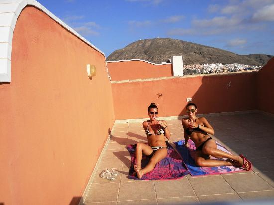 Granada Park Apartments: Our terrace