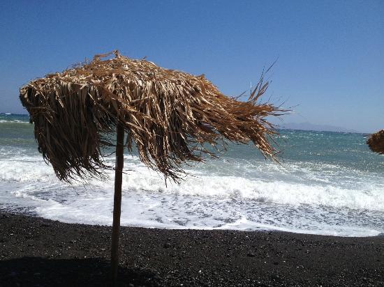 โรงแรมแอนนีโมนี: spiaggia di kamari