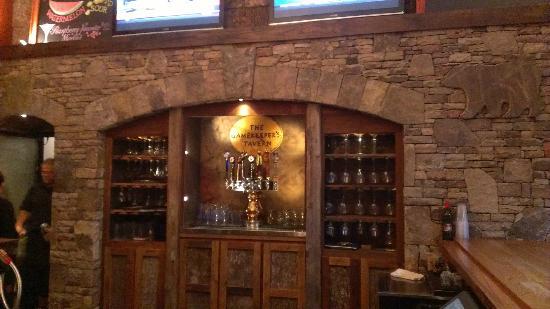 The Gamekeeper's Tavern: Incredible Stonework at Tavern