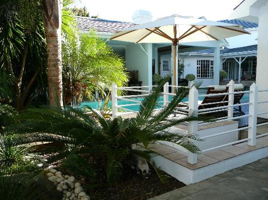 Belvedere Boutique Hotel: jolie piscine (trop froide à cette époque de l'année)