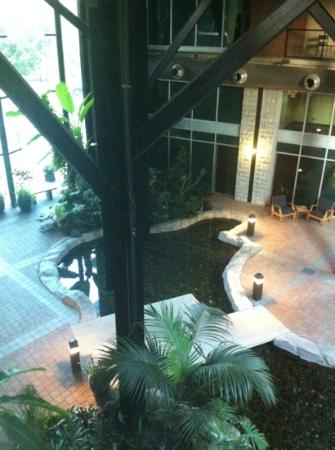 The Parkside Hotel & Spa : courtyard