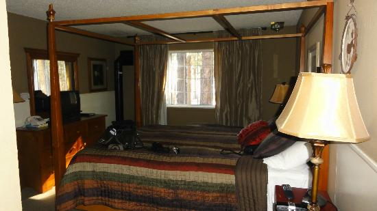 Cinnamon Bear Inn: Bedroom view