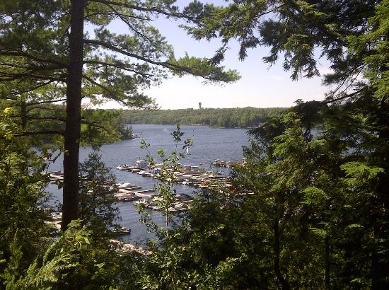 Glenn-Burney Lodge: View from Room Deck