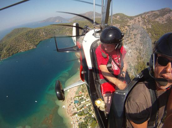 Heliworx Gyrocopter Flights- Day Tours: Blue Lagoon Olu Deniz