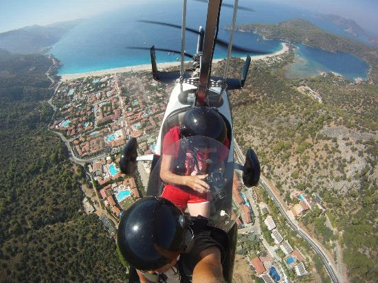 Heliworx Gyrocopter Flights- Day Tours: Olu Deniz from gyro