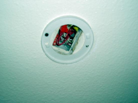 The Monarch in Mariposa: Wiring is there to properly install smoke alarm